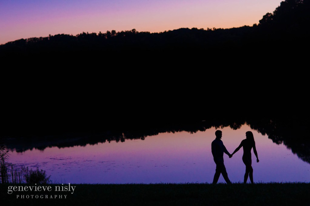 Akron, Copyright Genevieve Nisly Photography, Engagements, Indigo Lake, Summer