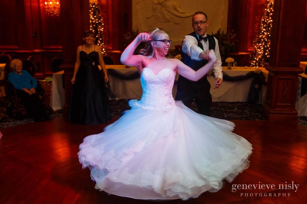 Canton, Copyright Genevieve Nisly Photography, La Pizzaria, Ohio, Wedding, Winter