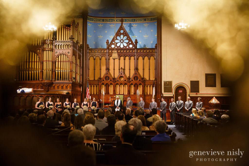 Cleveland, Copyright Genevieve Nisly Photography, Ohio, Old Stone Church, Summer, Wedding