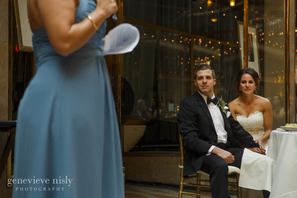 Hyatt Arcade, Cleveland, Summer, Wedding, Copyright Genevieve Nisly Photography, Ohio