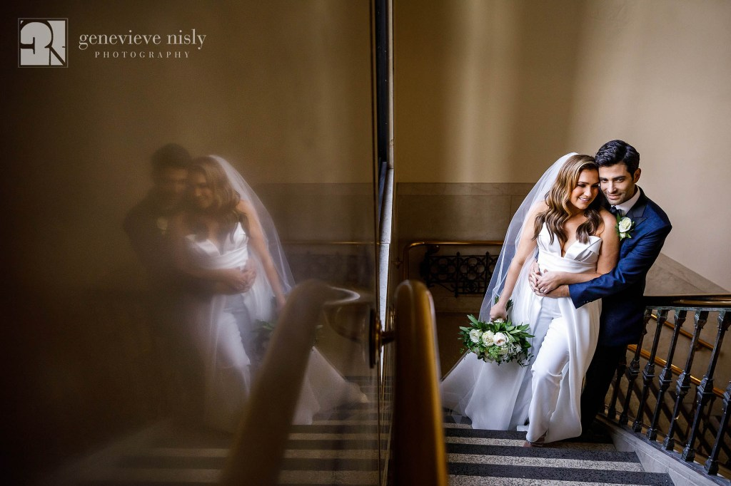 Copyright Genevieve Nisly Photography, Wedding, Cleveland, St. Clair Ballroom