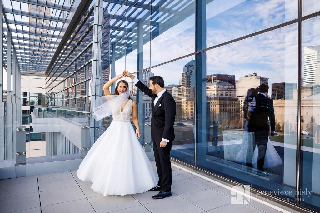 Copyright Genevieve Nisly Photography, Wedding, Ohio, Cleveland, Hilton Cleveland Downtown