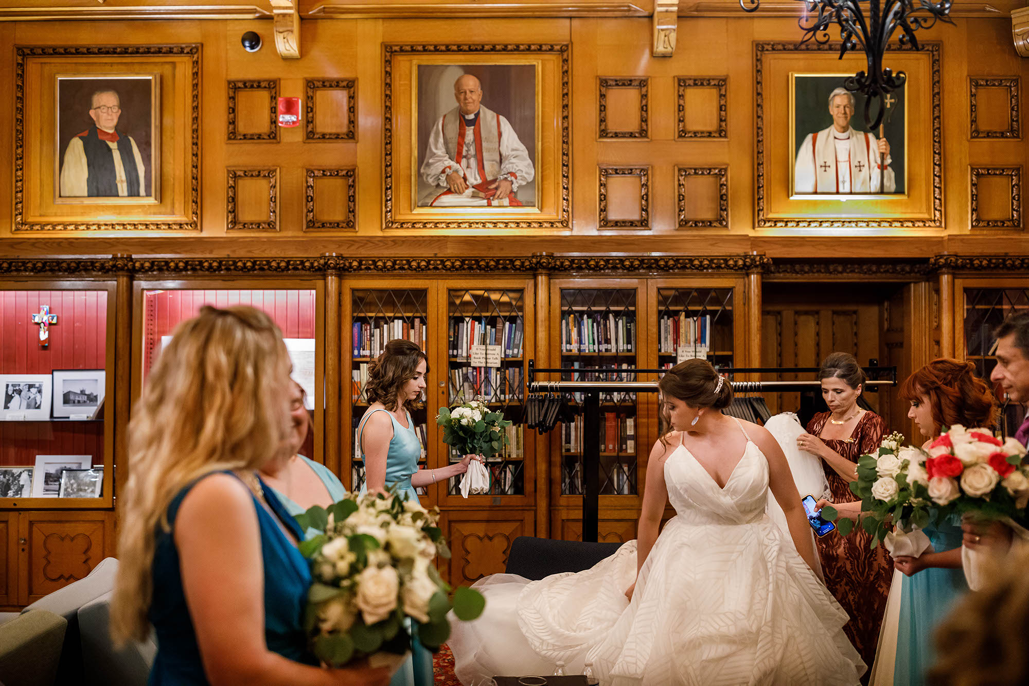 Wedding, Ceremony, Trinity Cathedral, Cleveland