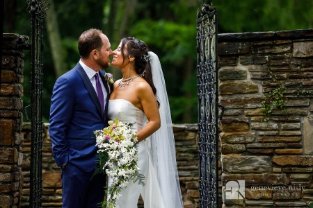 Intimate wedding at the Club at Hillbrook