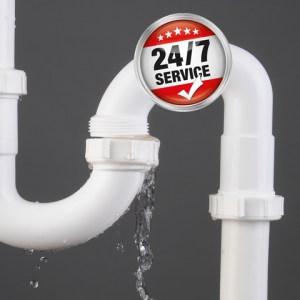 emergency plumbers leaky pipe