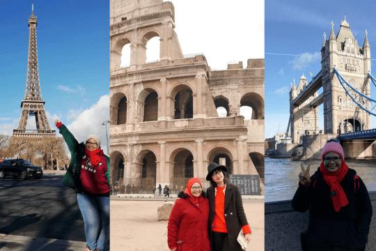 Gadis Ini Kongsikan Itinerari Trip Solo ke  Eropah (13 Negara) Dengan Kos Hanya RM 7072 3