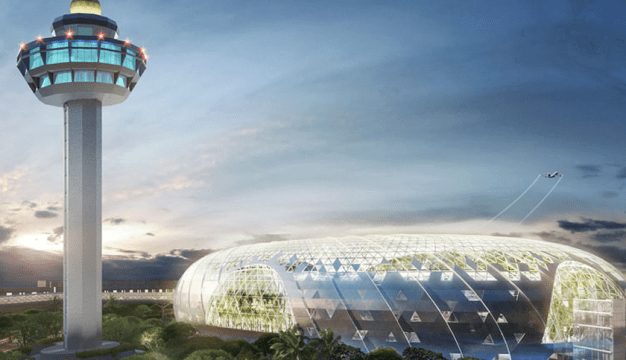 Wow! Lapangan Terbang Jewel Changi Yang Terbaru Ada Air Terjun Di Dalamnya. 5