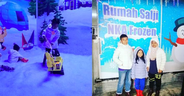 Rumah Salji Rembau Menjadi Tarikan Terbaru Di Negeri Sembilan