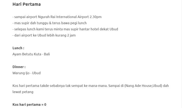 Duduk Di Villa, Private Pool, Gadis Ini Kongsikan Honeymoon Di Bali Dengan Bajet RM1000 Je! 6