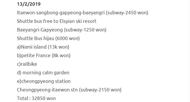 Bercuti Ke Seoul & Jeju Selama 8 Hari Dengan Kos RM1500 Termasuk Flight. Berbaloi Sangat! 10