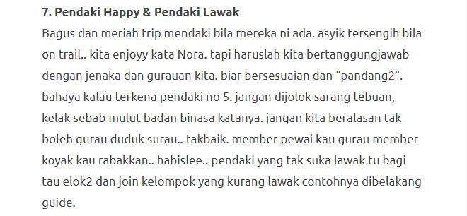"""""""Be A Responsible Hiker"""", Pesanan Untuk Para Hiker Sekalian 12"""