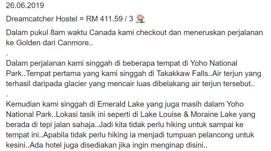 Permandangan Indah Dijanjikan Road Trip Ketika Melancong Ke Kanada. Lelaki Ini Kongsikan Itinerarinya 20