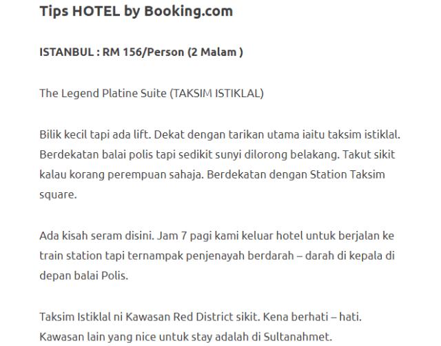 Menjelajahi Turki Selama 11 Hari Dengan Modal Hanya RM3750. Memang Sempoi! 6