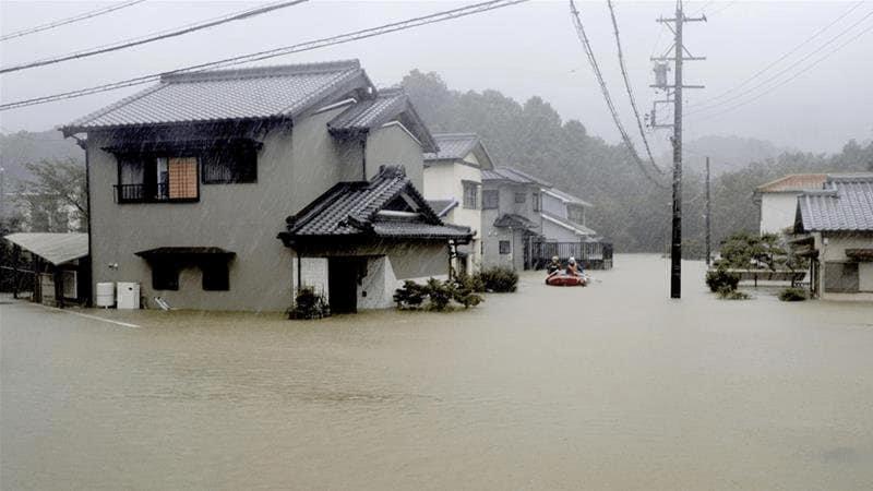 [VIDEO] Taufan Hagibis Membawa Angin Berkelajuan 220 km/h Melumpuhkan Jepun 2