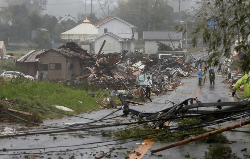 [VIDEO] Taufan Hagibis Membawa Angin Berkelajuan 220 km/h Melumpuhkan Jepun 3