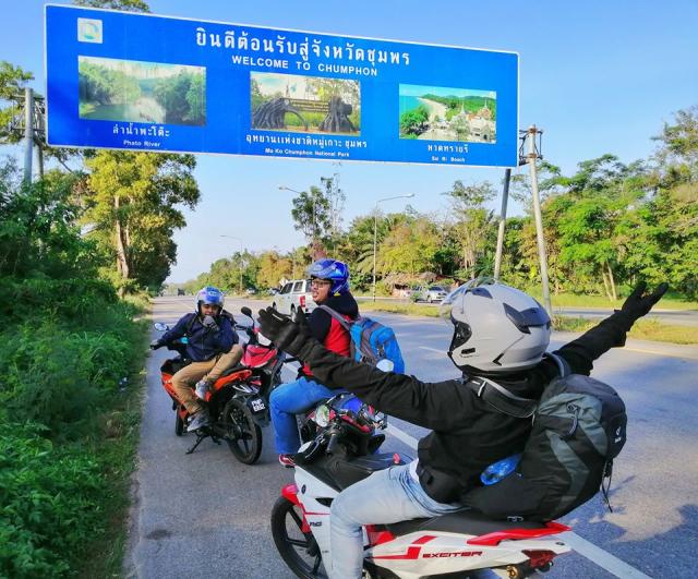Jelajah Ke 5 Sempadan Asia Tenggara Dengan Motosikal Ysuku Selama 13 Hari. Steady! 5