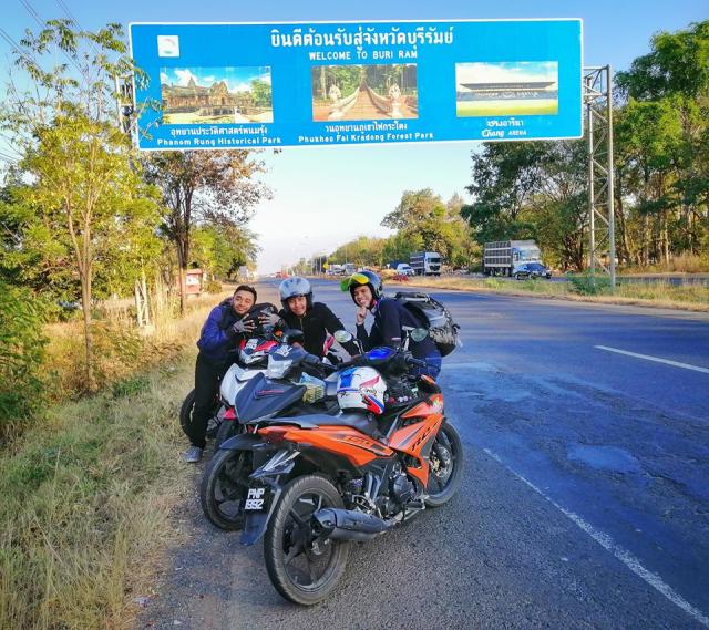 Jelajah Ke 5 Sempadan Asia Tenggara Dengan Motosikal Ysuku Selama 13 Hari. Steady! 10