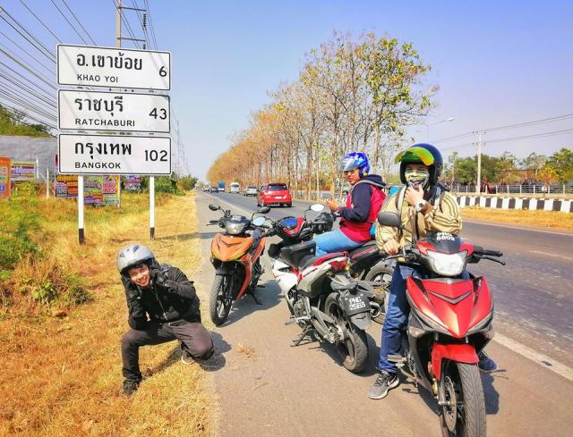 Jelajah Ke 5 Sempadan Asia Tenggara Dengan Motosikal Ysuku Selama 13 Hari. Steady! 11