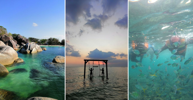 Tempat Menarik Di Pulau Belitung. Wanita Ini Kongsikan Itinerari 5H4M di Sana. Sangat Berbaloi!