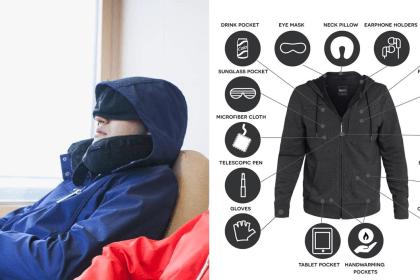 Jaket Dengan Lebih 20 Fungsi. Dicipta Khas Untuk Yang Suka Travel 17