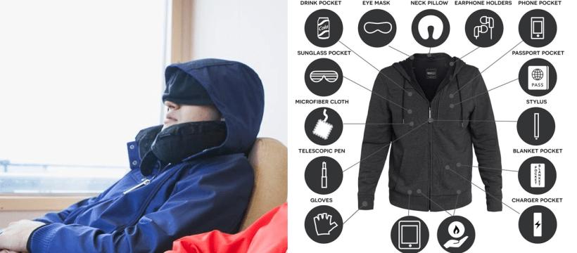 Jaket Dengan Lebih 20 Fungsi. Dicipta Khas Untuk Yang Suka Travel 2