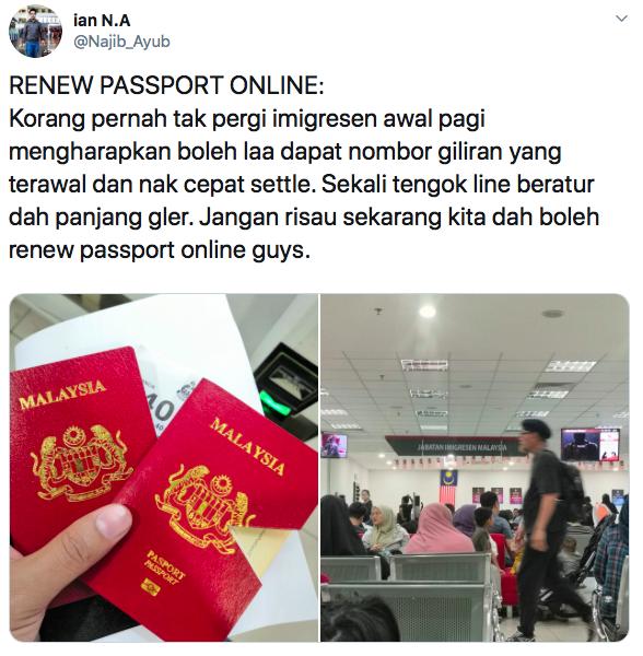 Renew Passport Secara Online Je! Ikuti Langkah Mudah Ini 2