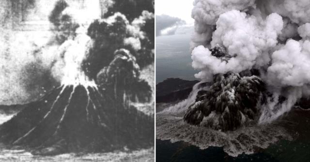 Letusan Gunung Berapi Anak Krakatau Baru-Baru Ini Mengimbau Kejadian Terburuk 1883