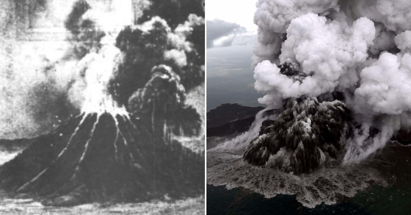 Letusan Gunung Berapi Anak Krakatau Baru-Baru Ini Mengimbau Kejadian Terburuk 1883 1