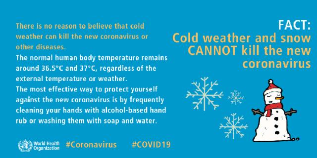 Fakta Dan Auta Tentang COVID-19 Dari WHO 6