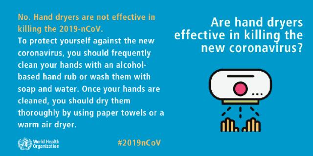 Fakta Dan Auta Tentang COVID-19 Dari WHO 9