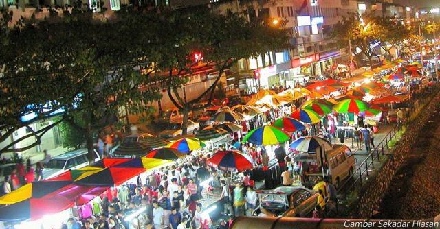 Pasar Malam Pertama Dibenarkan Beroperasi Di Terengganu