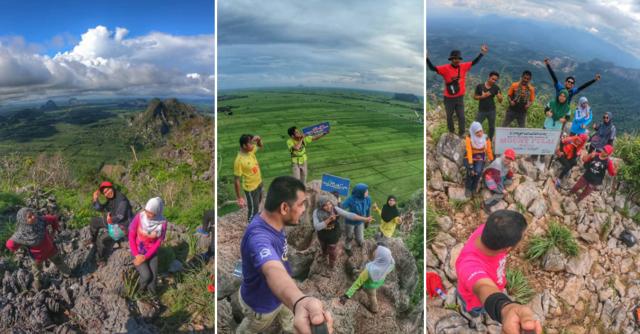 3 Lokasi Pendakian Wajib Jika Anda Ke Kedah & Perlis. View Sangat Cantik, 'Newbie' Pon Boleh Daki!