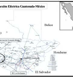 map of guatemalan electricity grid guatemala national energy grids library geni global energy network institute [ 10050 x 7500 Pixel ]