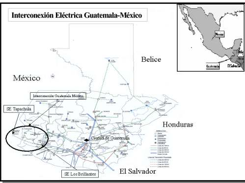 small resolution of map of guatemalan electricity grid guatemala national energy grids library geni global energy network institute