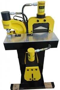 électrique hydraulique Installation pour barre Omnibus Traitement 3en 1(Perforatrice, Schneider, Cintreuse)