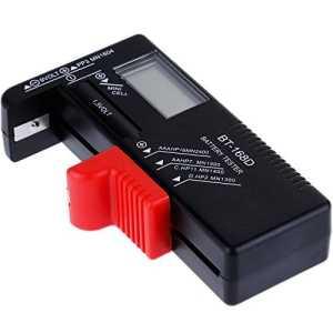 Anpro Testeur de Piles Universel Testeur AAA AA de Batterie Testeur de C D 1.5V 9V Piles Bouton Testeur Numérique de Batterie Pile Affichage Digital Pas Besoin de L'alimenter par Pile Dédiée, S'auto Alimente Avec Pile/Batterie En Test