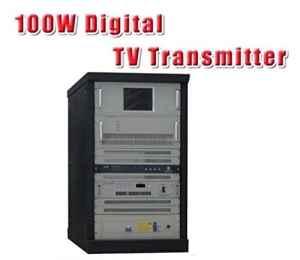 Gowe 100W VHF/UHF TV numérique Territoriale Broadcast émetteur (DVB-T/T2/ATSC/ISDB-T)