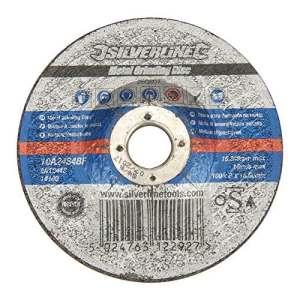 Silverline 260807 Disque à meuler le métal certifié osa