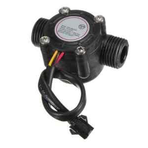SODIAL (R) Capteur de debit Capteur de debit de l'eau Debitmetre salle de controle des eaux 1-30L / min 2.0MPa