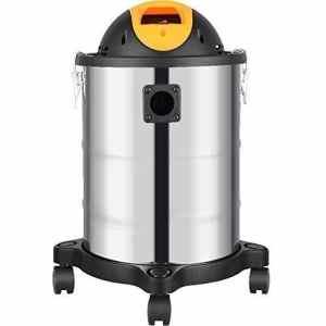 Syntrox Germany Basic 1600 Watt Aspirateur à cendres motorisé avec réservoir de 21 l acier inoxydable