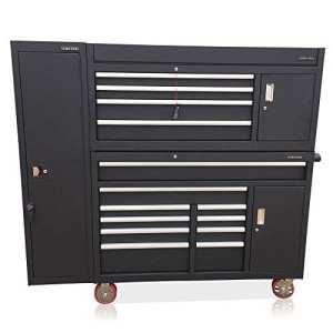 US PRO TOOLS Boîte à outils Noir à it Up massive Armoire avec armoire latérale pleine taille