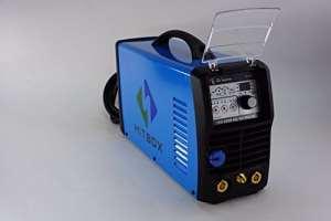 Hitbox 200A Appareil de Onduleur-ACDC impulsion de soudure TIG de soudure WIG 220V avec graveur de TIG soudage acier et aluminium de plaque métallique
