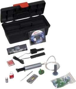KS Tools 160.0242 Kit 24 réparations, pastilles + résine + accéssoires