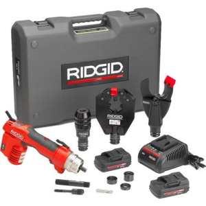 Ridgid 4434344343RE 6Kit de Outil électrique W/Sc-60C Ciseaux Cutter, 4p-64pin Dieless Crimp Tête et Ph-60b Punch Tête,,