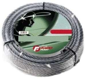 Corde en métal galvanisé volets écheveau X Ø 2,4 mm longueur de 9 mt
