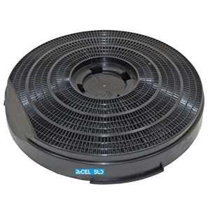 Filtre Hotte Elica Ariston Whirlpool charbon type 34Ø 260H 50mm f 9