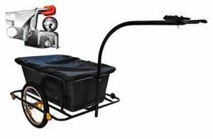 Remorque de vélo Remorque Chariot manuel à 80kg Vélo transport 16zoll
