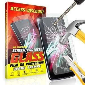 Access-Discount FILM EN VERRE AVANT SUR MESURE PROTEGE ECRAN 0, 3mm – VERRE TREMPE – Lenovo K6 Power / K6 5. 0 pouce VERRE DURCI