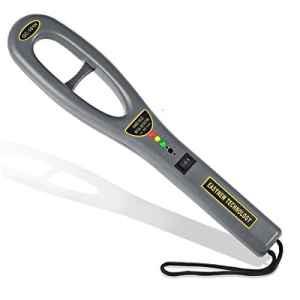 Drillpro Détecteur de métal à main-Détecteur Métaux Portable-Détecteur sécuritéhaute sensibilité pour occasions importantes,métro, parc,(Ce produit ne contient pas de piles)