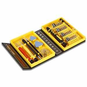 Floureon Kit de Tournevis 38 en 1 Kit d'outils de Réparation Professionnel Précision Outil Réparation pour iPhone 6 5S 5 4S 4 Samsung S5 S4 Note 4 Note 3